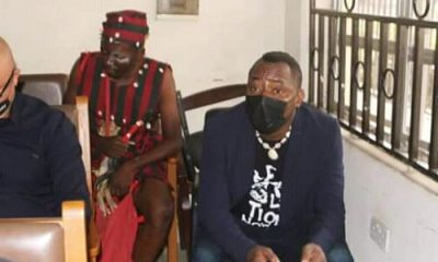 Drama As Herbalist Accompanies Sowore To Court [Photos]