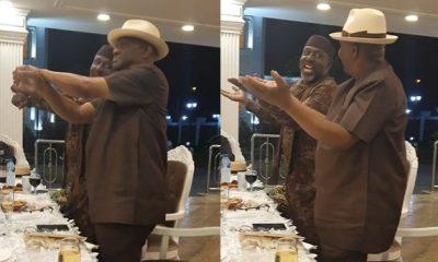 Wike, Okorocha Show Off Their Dancing Skills [Video]