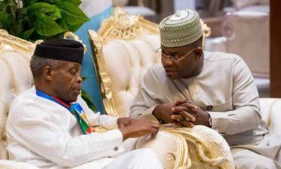 Osinbajo Responsible For Successes Recorded By Buhari's Govt - Yahaya Bello
