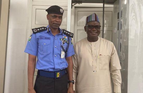 Police Speaks On IGP Adamu's Meeting With Ortom
