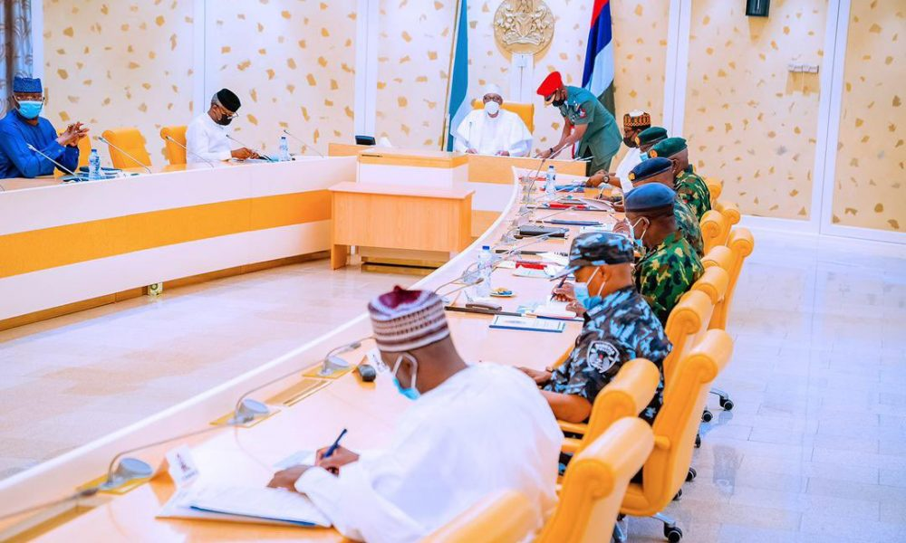 Insecurity: Buhari, Security Heads To Meet On Tuesday