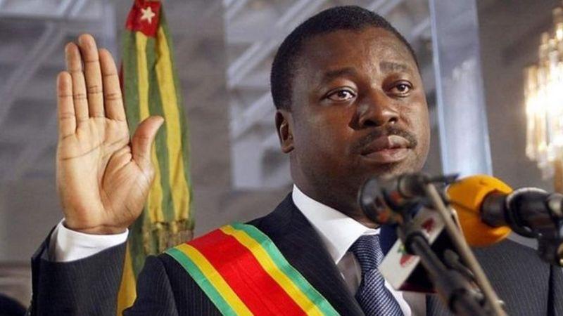 Former Togolese President Faure Gnassingbé