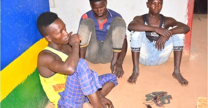 Three Hoodlums Arrested With Ammunition, Charms In Ondo