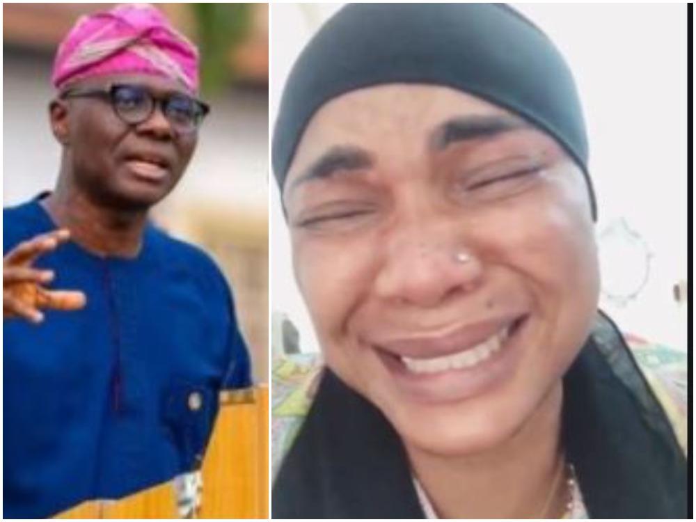 Iyabo Ojo cries out