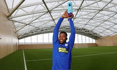 Kelechi Iheanacho emerges premier league player of the month