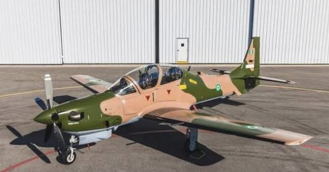 Air Force Newly Acquired Super Tucano Jet Undergoes Test Flight Operation [Video]