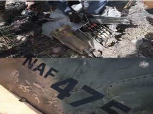Wreckage Of Missing NAF Alpha Jet 475 Found In Borno