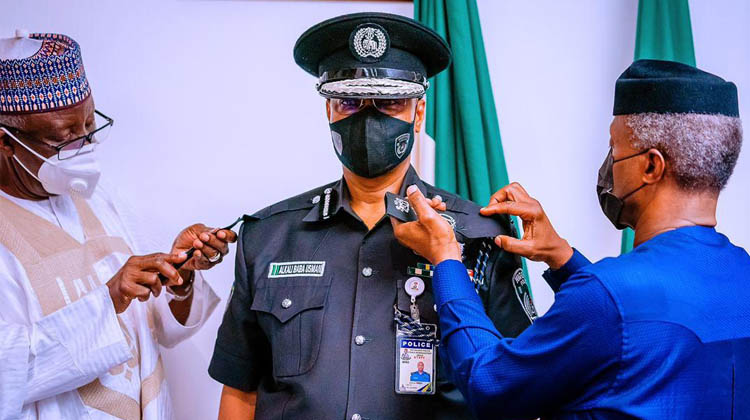 Acting IGP Promises To Improve Security, Acquire Equipments
