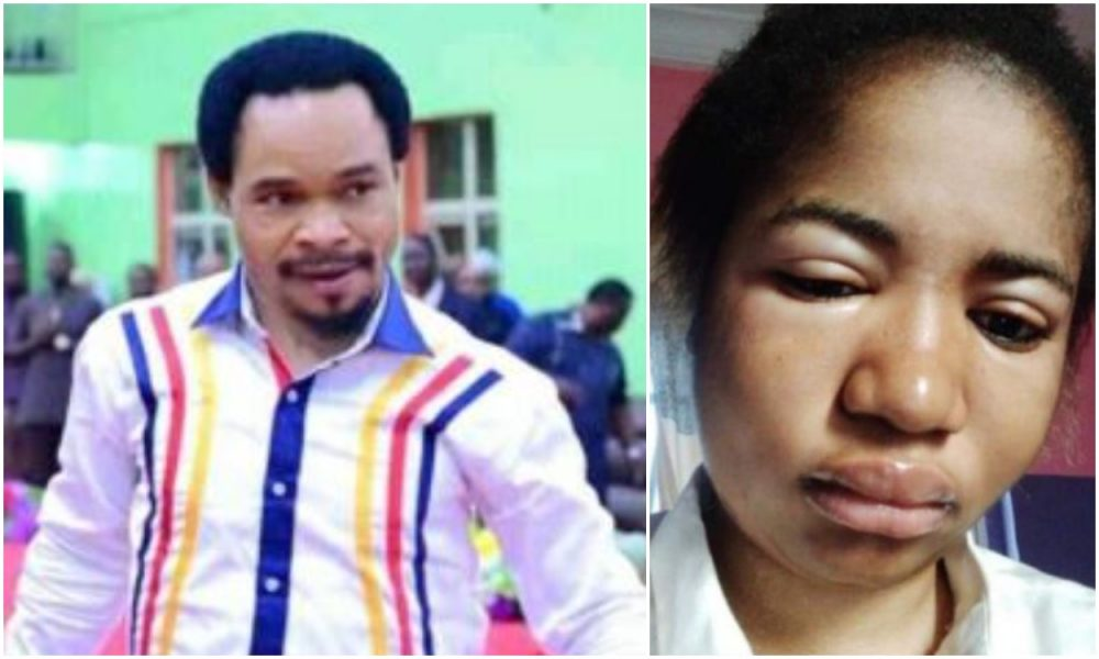 Prophet Odumeje Finally Forgives Ada Jesus, Gifts Her 1million For Treatment [Video]