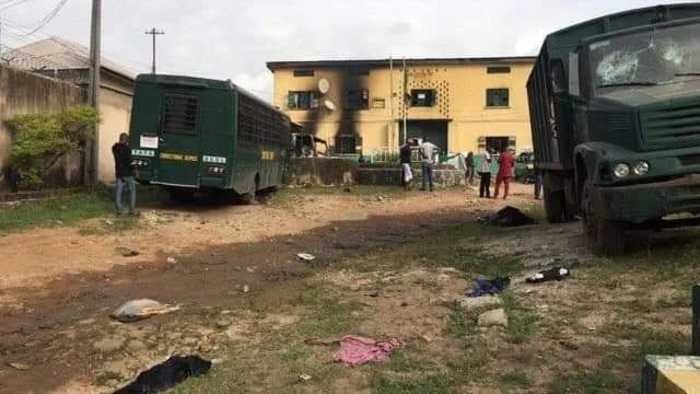 Prison Service Gives Update On Imo Jailbreak, Say 6 Inmates Return