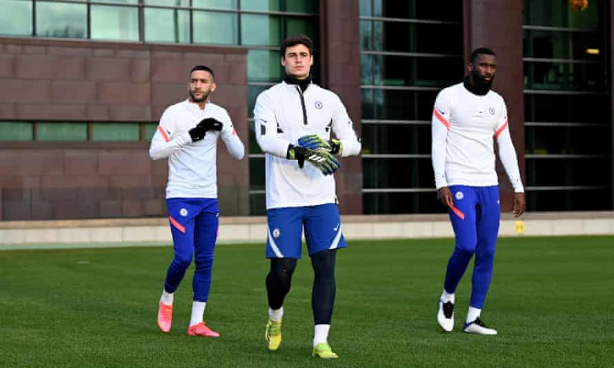 Rudiger Dismissed From Chelsea Training After Kepa Clash