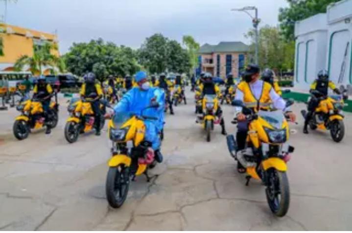 Kano Deploys Power Bikes To Control Traffic