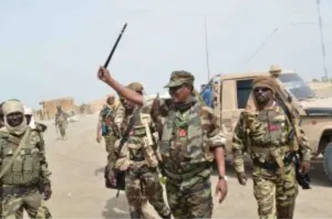 Flashback: How Late Chadian President Led His Men To Capture Boko Haram Fighters In Sambisa