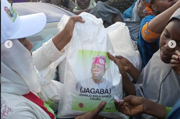 2023: I'm Not Responsible For Bags Of Rice Being Distributed In The North, But… – Tinubu