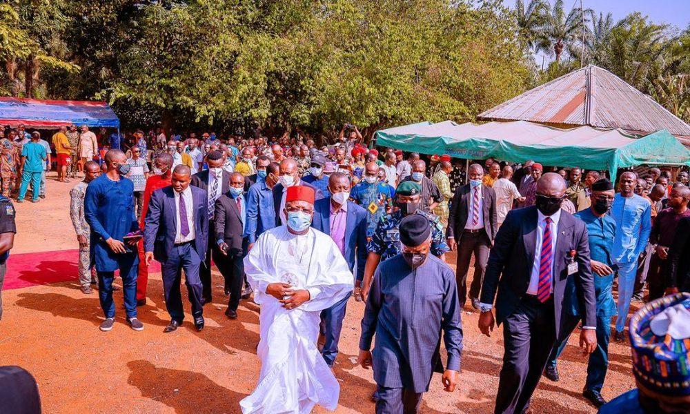 Ebonyi Attacks: Osinbajo Visits Affected Communities