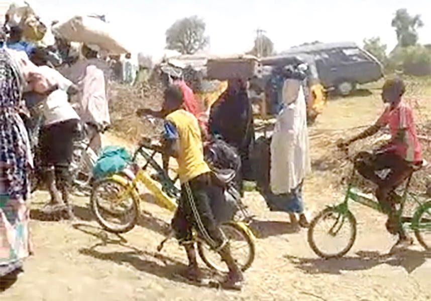 Boko Haram: Over 100,000 Flee To Niger Republic After Borno Attacks