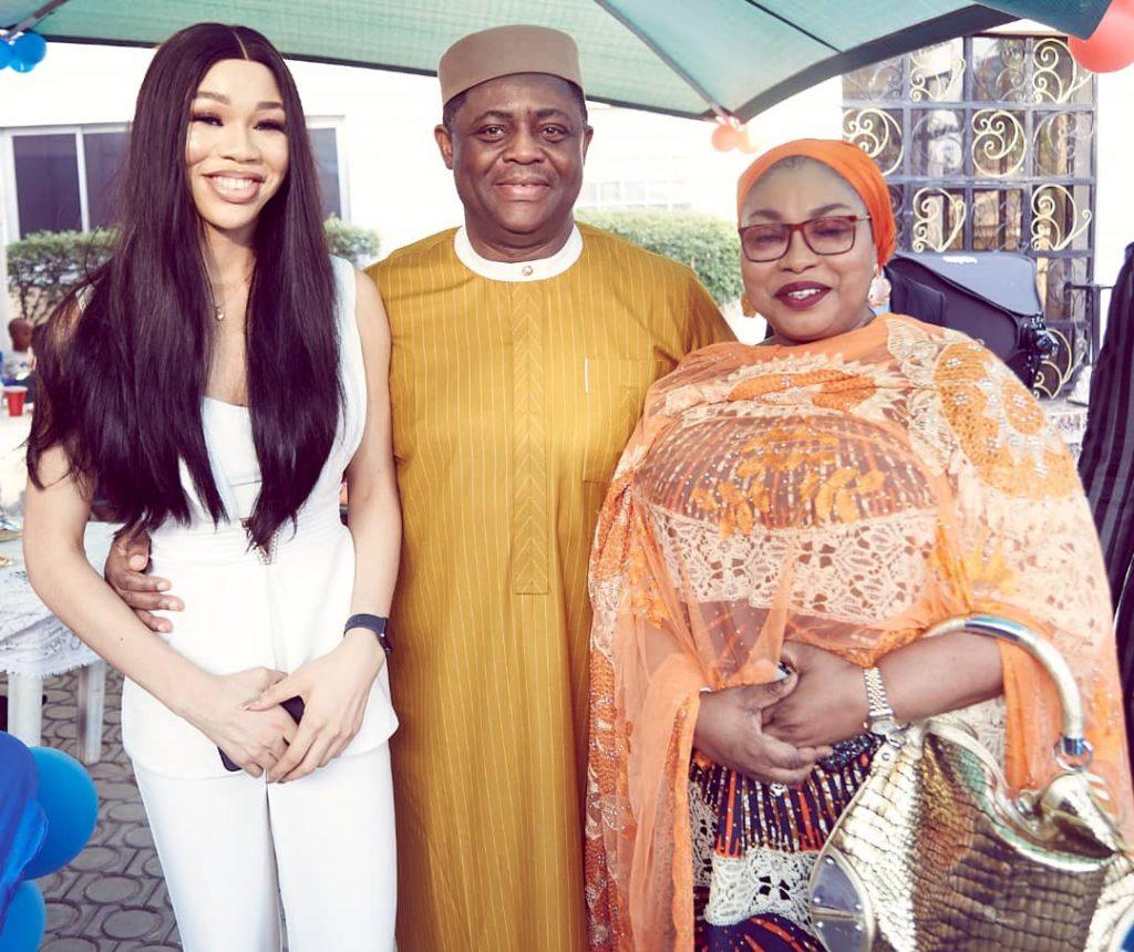 Why Igbo Women Only? - Nigerians React As Femi Fani-Kayode Shows Off New Beautiful Girlfriend, Chika