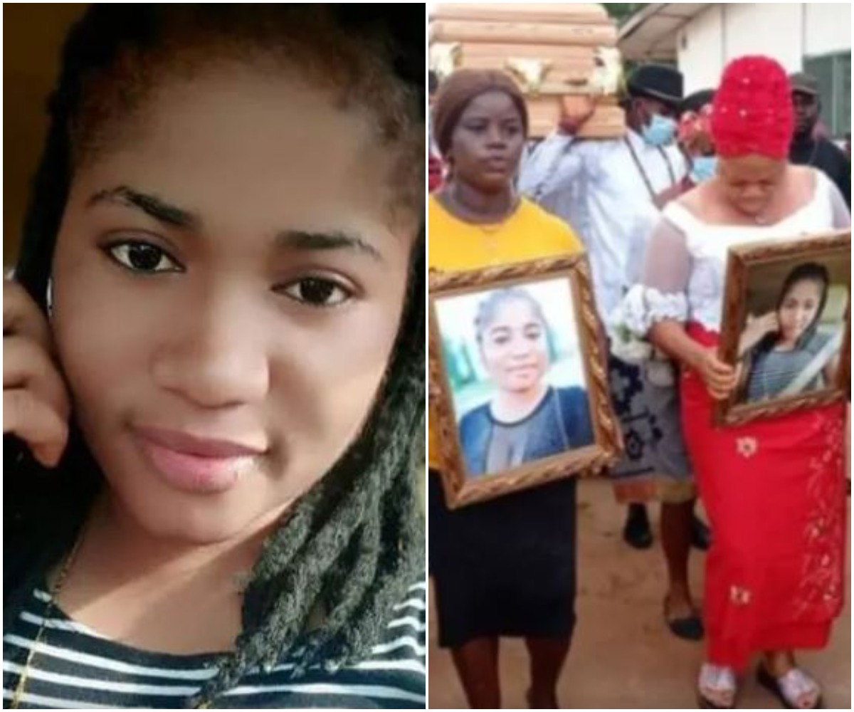 Ada Jesus' Father Speaks At Her Burial, Reveals Her Last Words To Him Before Death