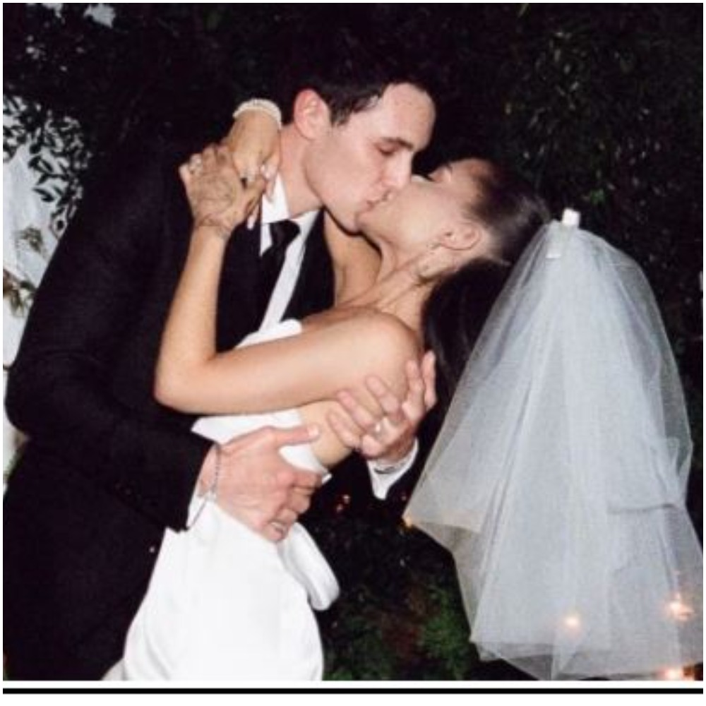 Ariana Grande Shares Stunning Wedding Photos After Marrying Dalton Gomez In Intimate Ceremony