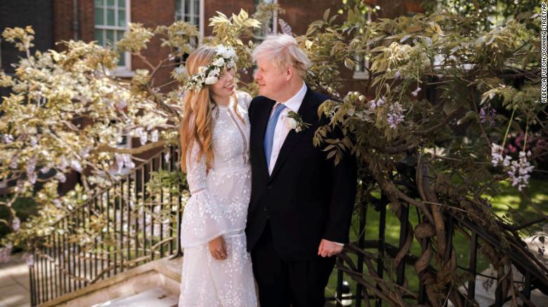 British PM Boris Johnson Marries Fiancee In Secret Wedding