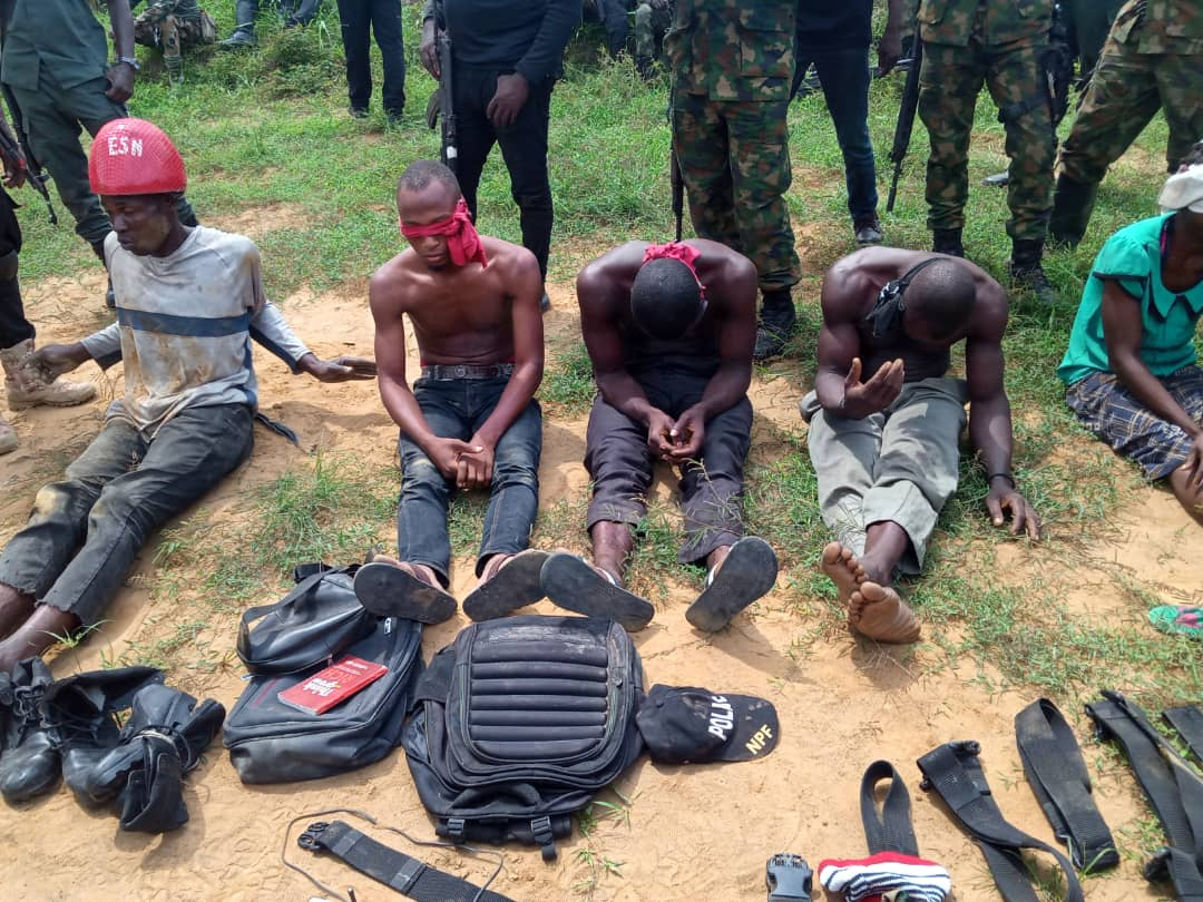 Imo Police Intercepts 4 ESN Members For Planning To Use Explosives