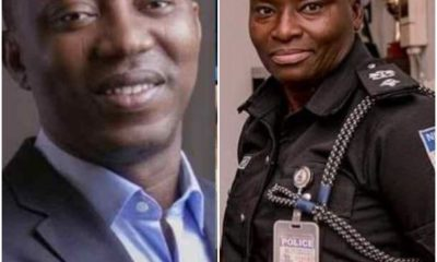 Face Of Female Officer That Shot Sowore in Abuja |Photo