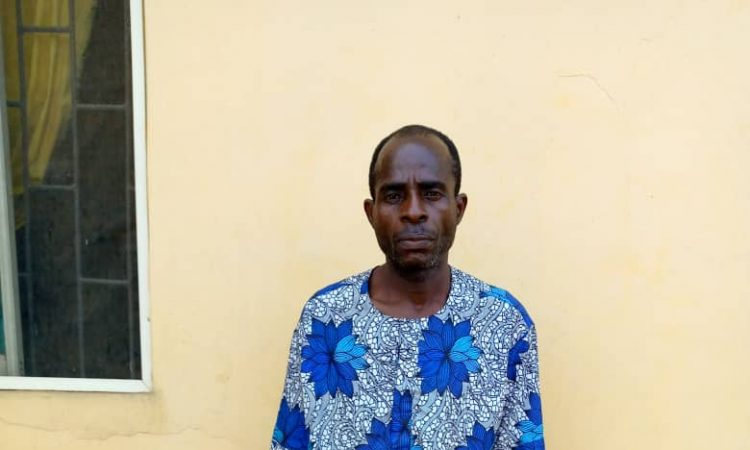 52-Yr-Old Man Arrested In Ogun For Raping 10-Yr-Old Girl, 3 Of His Underaged Daughters