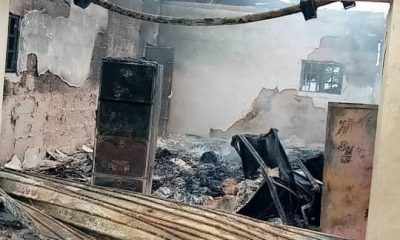 Another INEC Office Set Ablaze In Abia