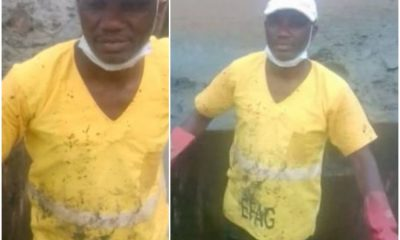 How Masters Degree Holder Was Sacked As Drainage Cleaner For Disclosing N35,000 Salary
