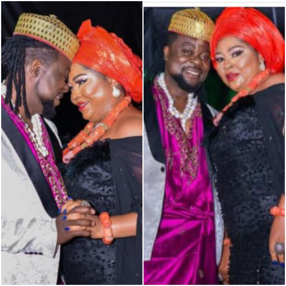 Nigerians Drag Regina Daniel's Mother, Rita After She Secretly Marries Her Young Lover |Photos