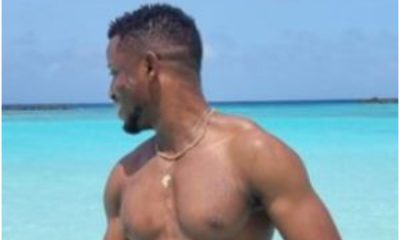 Female Fans Goes 'Gaga' As Singer, Chike Shares Sultry Wet Swim Trunk Photo