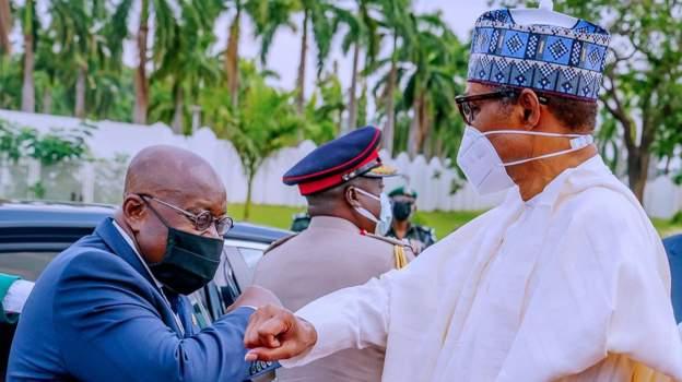 Buhari hosts Ghana President, Nana Akufo-Addo at State House, Abuja