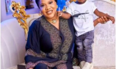 Actress, Toyin Abraham Celebrates Her Son, Ire On Children's Day