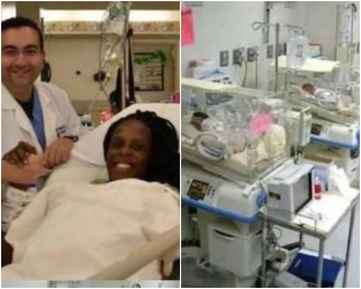 25 -Year -Old Woman Gives Birth To 9 Babies At Once, 5 Girls And 4 Boys | Photo | Naija News
