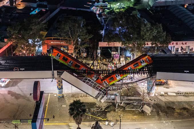 22 Killed, Over 70 Injured In Metro Bridge Collapse