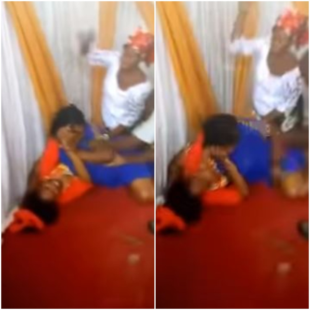 Pastor wife fights dirty with side chic
