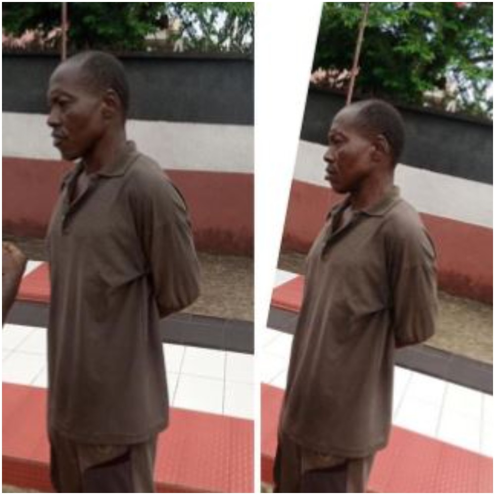 Nigerian Father Arrested For Defiling His Three Underage Daughters |Photo