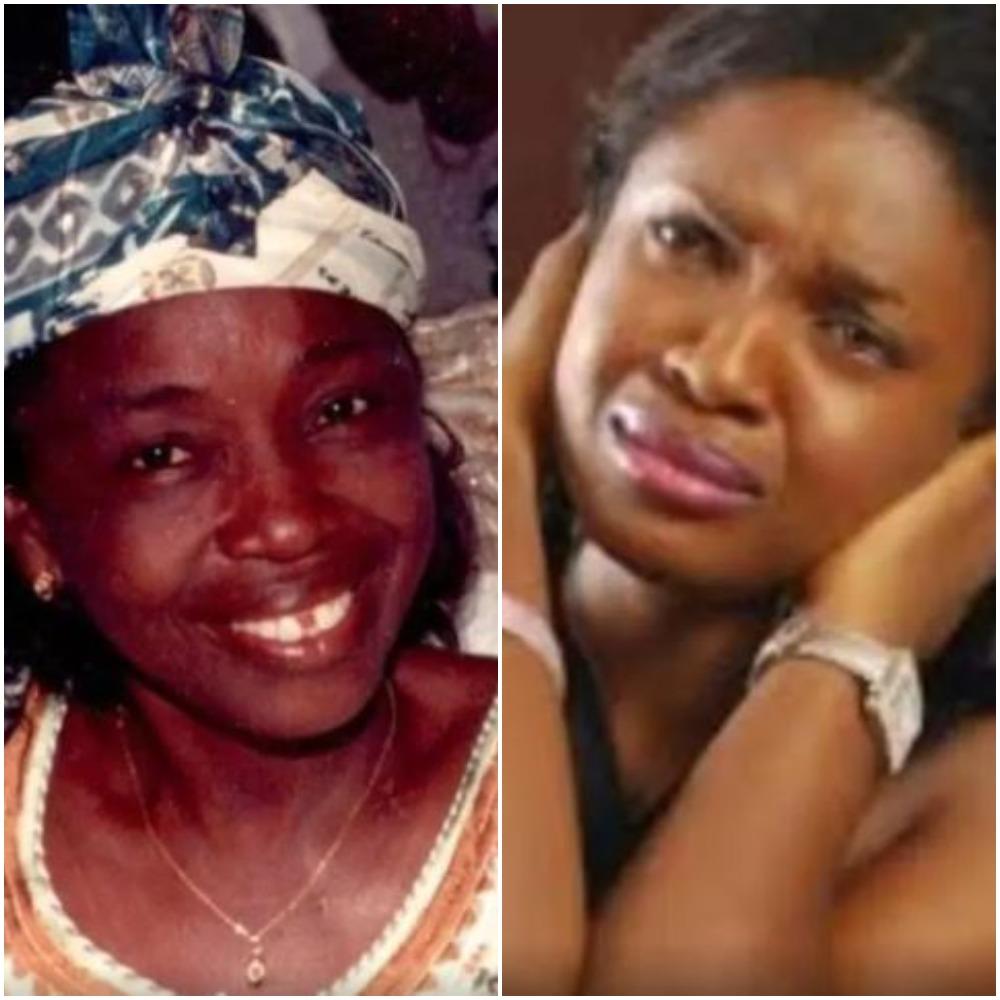 Actress, Omoni Oboli Mourns Late Mother,