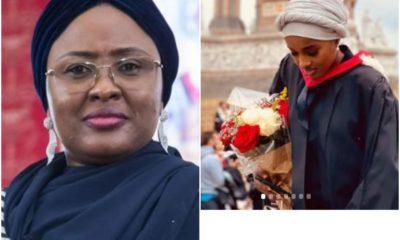 Aisha Buhari Celebrates Her Daughter, Hanan