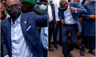 Babajide Sanwo-Olu, Praises God As He Turns 56 In Style,