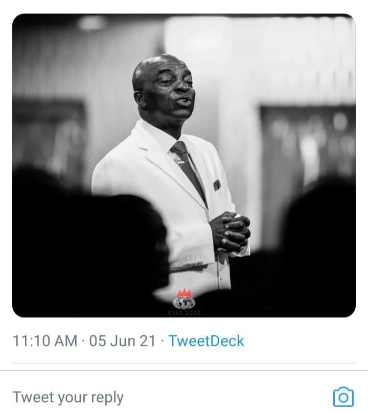 Twitter Ban: Bishop Oyedepo Tells Nigerians What To Do