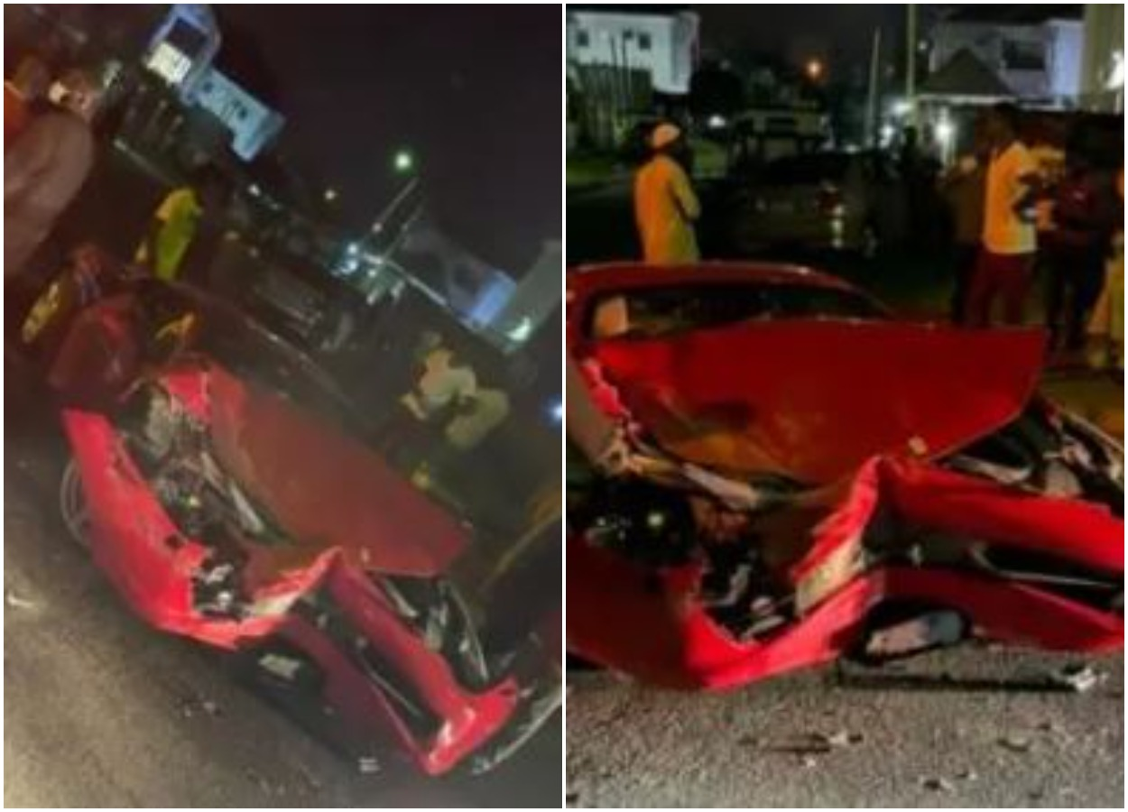 Car Seller Crashes Customer's Ferrari Moments After Paying