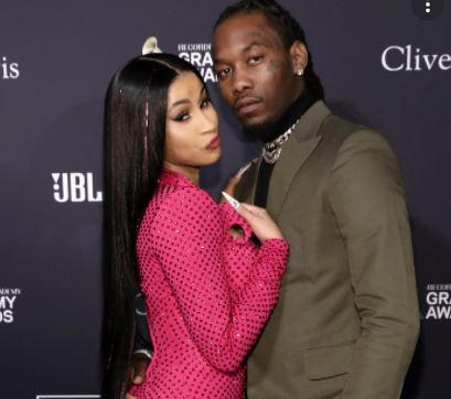 Cardi B Shows Off Her Baby Bump In Nude Photo
