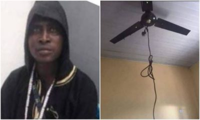 Nigerian Man Commits Suicide With A Cryptic note