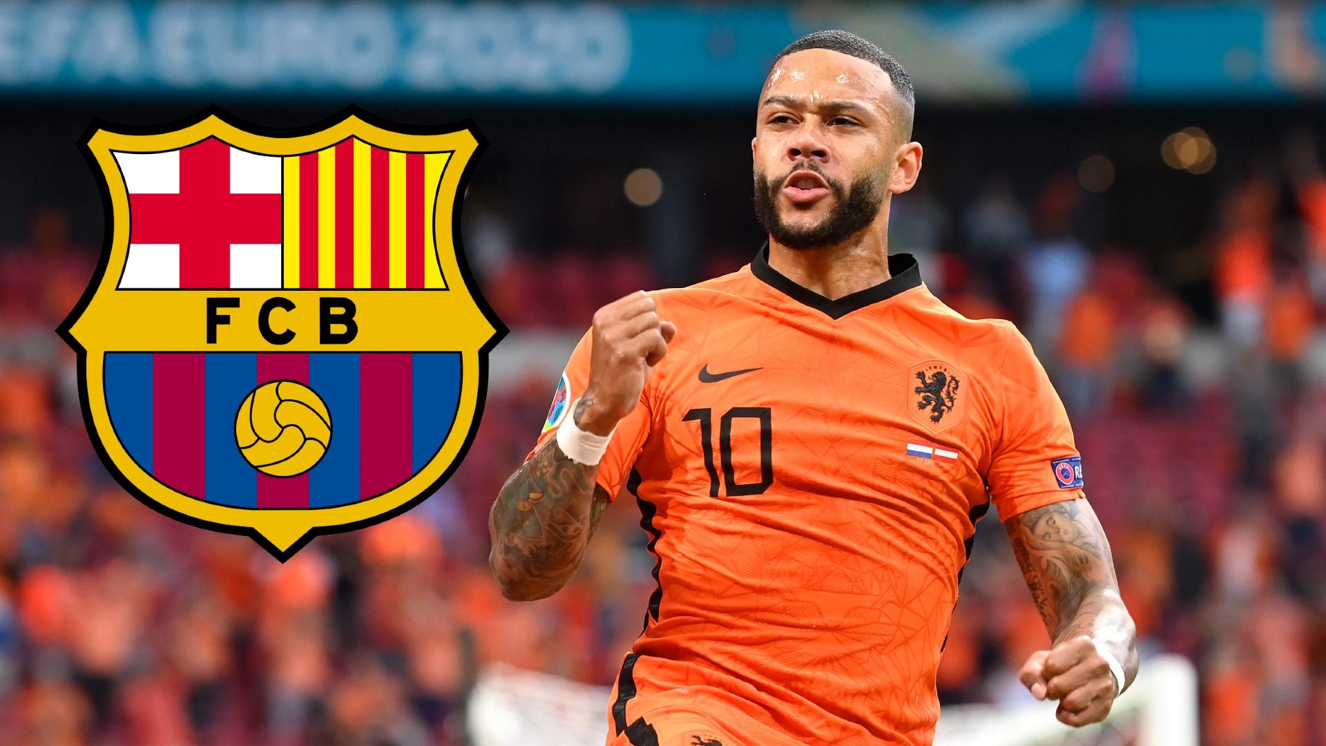 Depay completes Barcelona transfer
