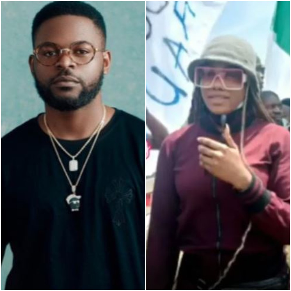 Falz, Tacha, Others Storm Lagos Streets, Joins June12 Protesters