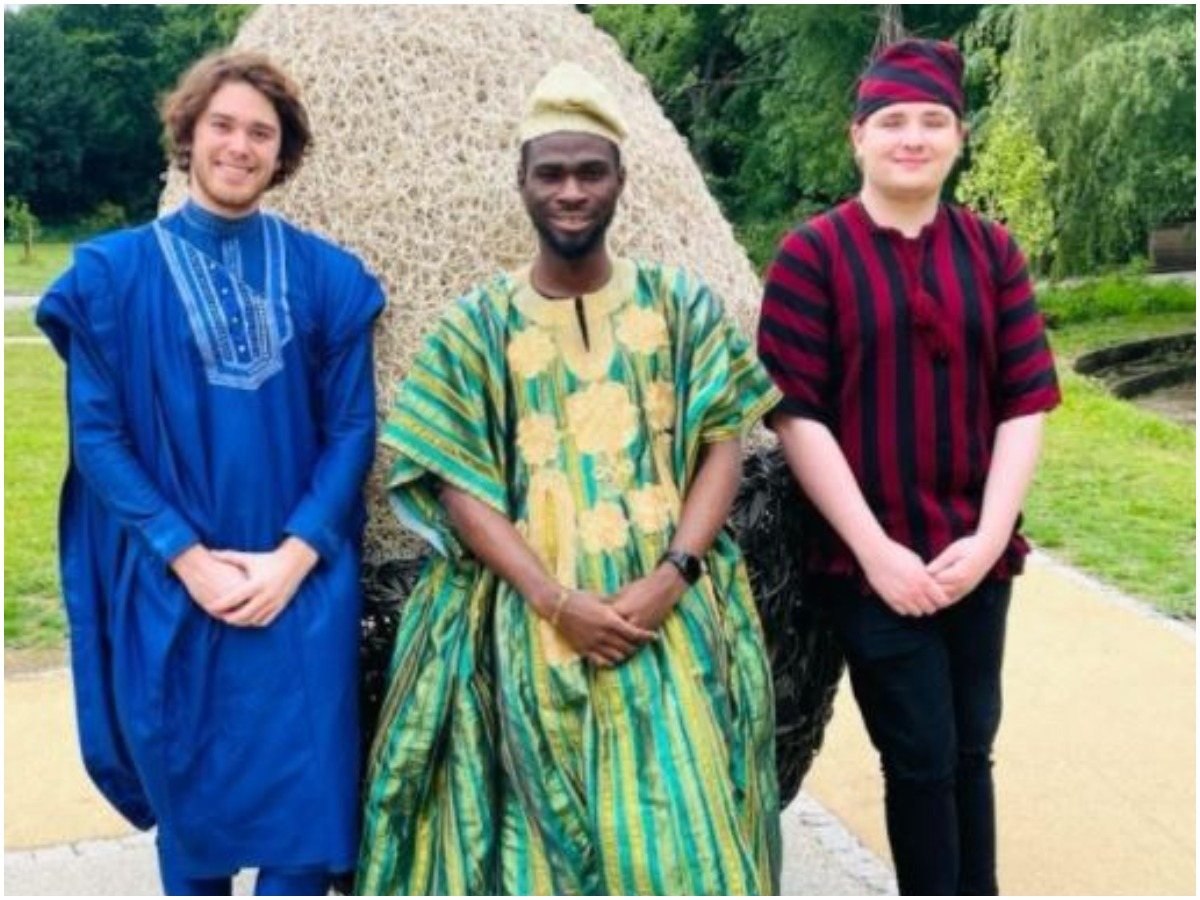 an Causes Stir With Photos Of His White Friends In Babariga