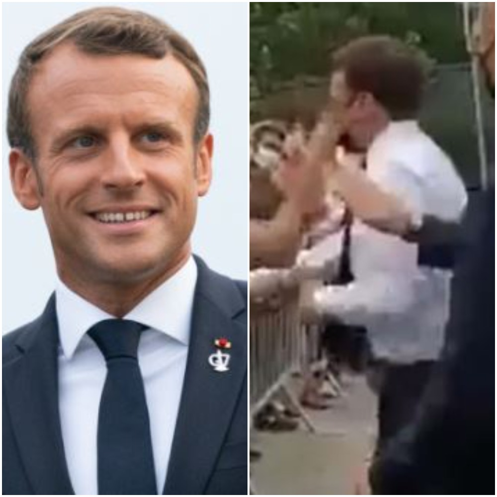 Man Slaps French President Macron