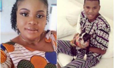 Nigerian Lady Professes Love To Billionaire, Femi Otedola's Son
