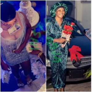 Nigerian Man Rewards His Girlfriend With Benz For Standing With Him When He Was Broke